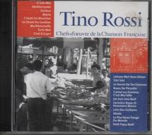 CD. TINO ROSSI. O Sole Mio - Méditerranée - Le Chant Du Gardian - Tchi Tchi - Petit Papa Noël - 20 Titres - - Autres - Musique Française