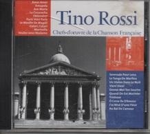 CD. TINO ROSSI. Amor Amor - Ave Maria - J'Attendrai - Marinella - Ô Corse île D'Amour - Tristesse - 20 Titres - - Autres - Musique Française