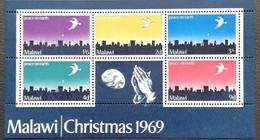 Malawi 1969 Christmas S/S - Malawi (1964-...)
