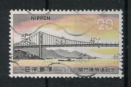 Japan Mi:01191 1973.11.14 Opening Of Kanmon Bridge(used.w) - 1926-89 Empereur Hirohito (Ere Showa)