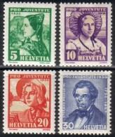 PRO JUVENTUTE 1935 ** / MNH Série Complète SBK 15,- Voir Description - Neufs