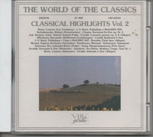 CD.THE WORLD OF THE CLASSICS. Bizet - Bach - Chopin - Vivaldi - Mozart - Beethoven - Schubert - 20 Titres Classique - Classique