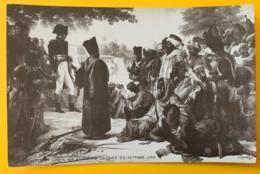 8161 - Napoléon Fait Grâce Aux Révoltés Du Caire  P.Guérin Non Circulée - Peintures & Tableaux