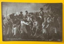 8163 -  Napoléon  Harangue Les Troupes Bavaroises à Abensberg  Debret Non Circulée - Peintures & Tableaux