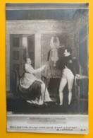 8171 -  Marie-Louise Faisant Le Portrait De LÊmpereur Menjaud  Non Circulée - Peintures & Tableaux