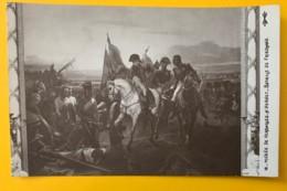 8173 -  Napoléon Bataille De Friedland Vernet  Non Circulée - Peintures & Tableaux