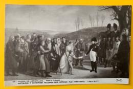 8174 -  Napoléon à Osterode Accorde Des Grâces Aux Habitants Ponce Camus Non Circulée - Peintures & Tableaux