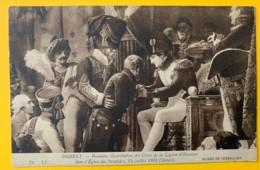 8175 -  Napoléon 1ère Distibution Des Croix De La Légion D'honneur  Eglise Des Invalides  Debret - Peintures & Tableaux
