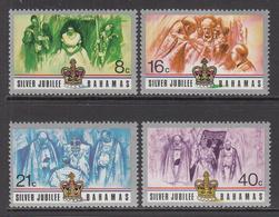 1977 Bahamas QEII Silver Jubilee Complete Set Of 4 MNH - Bahamas (1973-...)