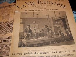GREVE MINEURS DENAIN TERRENOIRE ANZIN COMITE HOUILLERES/AEROSTAT CATASTROPHE BRADSKY/ITALIE ZANARDELLI /VALENCE LOUBET - Livres, BD, Revues