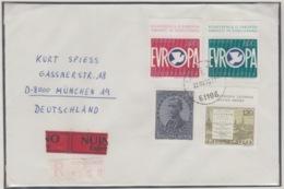 JOUGOSLAVIA REGISTERED MICHEL 1584, 1593, 1617/18 EUROPA 1975 - 1945-1992 République Fédérative Populaire De Yougoslavie