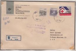 JOUGOSLAVIA REGISTERED MICHEL 1620 RED CROSS - 1945-1992 République Fédérative Populaire De Yougoslavie