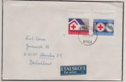 JOUGOSLAVIA PAR AVION MICHEL 1619/20 RED CROSS - 1945-1992 République Fédérative Populaire De Yougoslavie