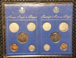 Belguim - Belgie Coin Set - Muntenset 1975 (VL + FR) - Belgique