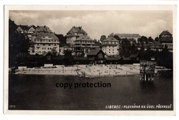 Liberec, Plovarna Na Udol. Prehrade, Alte Foto Postkarte 1943, Reichenberg Sudetengau - Czech Republic
