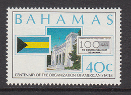 1990 Bahamas OAS Organisation Of American States  Complete Set Of 2 MNH - Bahamas (1973-...)