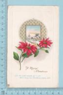 Carte Postale CPA - Christmas,    - Used Voyagé En 1921 + USA Stamp, Cover Dover NH - Noël