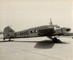 AVRO ANSON   BRITISH EUROPEAN AIRWAYS +-  25 * 20 CM BRISTOL - Aviación