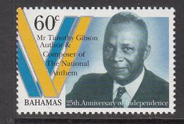 1998 Bahamas Anthem Music Composer  Complete Set Of 1 MNH - Bahamas (1973-...)