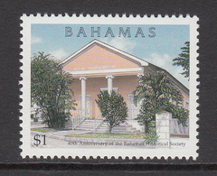 1999 Bahamas Historical Society Architecture Complete Set Of 1 MNH - Bahamas (1973-...)