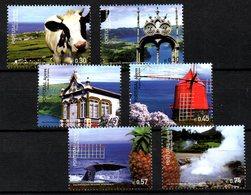 PORTUGAL ACORES. N°498-503 De 2005. Tourisme/Vache/Baleine/Moulin. - Azores