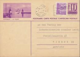 SCHWEIZ  MiNr. P 167 I, ZNr. PK 139.169, Bildpostkarte: MORGES – LE PORT, Mit Stempel: Geneve 7.IX.1937 - Postwaardestukken