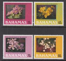 2003 Bahamas Medical Plants Bush Medicine Health Complete Set Of 4 MNH - Bahamas (1973-...)