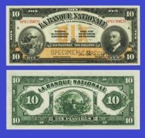 Quebec Canada 10 Dollar 1922 - Canada