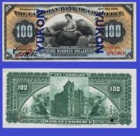 The Yukon 100 Dollars 1898 - Canada