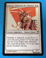MAGIC THE GATHERING TAKENO, GENERALE DEI SAMURAI - Magic The Gathering