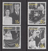 2007 Bahamas QEII Wedding   Complete Set Of 4 MNH - Bahamas (1973-...)