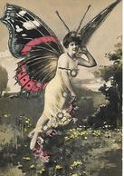 Femme Ailée Papillon 1910 - Femmes