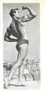 PHOTO HOMME EN MAILLOT DE BAIN CULTURISTE CULTURISME  13 X 30 CM - Sports