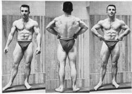 PHOTO HOMME EN MAILLOT DE BAIN CULTURISTE CULTURISME  17.50 X 12.50 CM - Sports