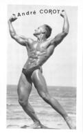 PHOTO HOMME EN MAILLOT DE BAIN CULTURISTE CULTURISME  ANDRE COROT  21 X 13 CM - Sport