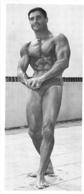 PHOTO HOMME EN MAILLOT DE BAIN CULTURISTE CULTURISME  20 X 8.50 CM - Sports