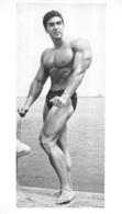 GRANDE PHOTO HOMME  EN MAILLOT DE BAIN CULTURISME CULTURISTE   29 X 16.50 CM - Sport