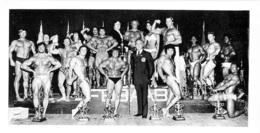 PHOTO HOMMES  EN MAILLOT DE BAIN CULTURISME CULTURISTE   CHAMPIONNAT  21 X 11 CM - Sport