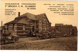 1 PC Hagelandsche Stoommelkerij Ste Brigida S M Glabbeek Bij Tienen Tel. N°26  Uitgever Camiel Swinnen - Kortenberg