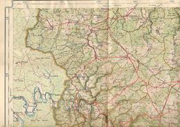 -BOUILLON,feuille XXIII-Délégation De Belgique à La Haye(Pays Bas)-L'attaché Militaire -Parfait - Cartes Géographiques