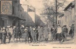 CPA VELLERON - La Place - France