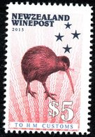 New Zealand Wine Post Red Kiwi Official. - New Zealand