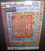 Carte Postale - 22e Hestejada De Las Arts - L'été D'Uzeste Musical - Publicité