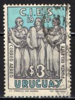 URUGUAY - 1961 - PUNTA DE L'EST - USATO - Uruguay