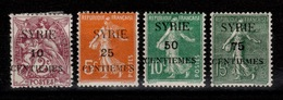 Syrie - YV 105 à 108 N* - Syrie (1919-1945)