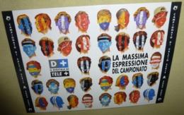 Carte Postale - La Massima Espressione Del Campionato (football) Calcio Serie A 2000/2001 - Publicité
