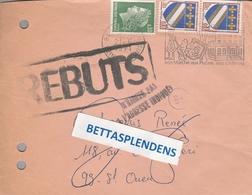 LSC 1971 - Cachet ST OUEN - Griffes REBUTS Et N'habite Pas à L'adresse Indiquée - Marcophilie (Lettres)