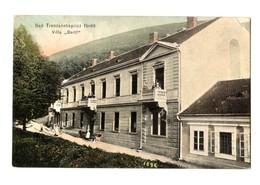 "1915 Slovakia / Hungary: Trencsénteplicz-fürdö (Trencianske Teplice), Villa ""Bartl"" RRR - Slovakia"