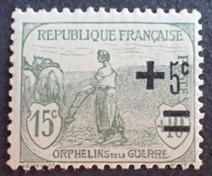 FD/3000 - 1922 - AU PROFIT DES ORPHELINS DE LA GUERRE - N°164 NEUF** - France