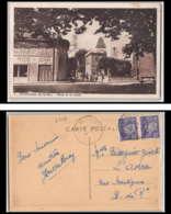 4548 Carte Postale (postcard) La Calade Bouches Du Rhone Puyricard 509 Pétain Pour Marseille 1944 - Marcophilie (Lettres)